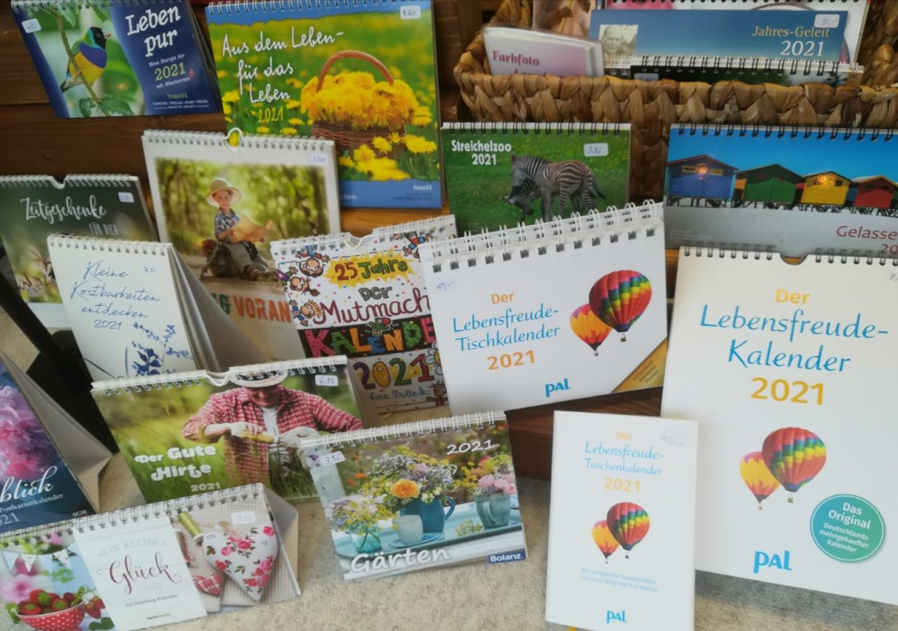 Kalendersortiment - Auswahl